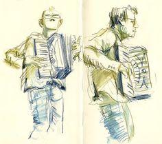 Urban Sketchers: Ireby Music Festival