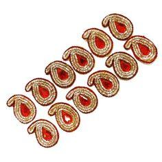 Paisley Shape Golden Beaded Appliques Decorative Sewing Ethnic Patch India 45 Pcs ibaexports http://www.amazon.com/dp/B00JTX5RTI/ref=cm_sw_r_pi_dp_vkeMwb1WC0MB5