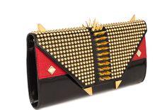 Corti Milano Emmina Killer Clutch Bag  #cortimilano #bag #clutch #luxury #madeinitaly #studs #emmina #killer #punk