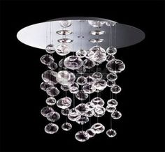 Everybody Happy with Glass Bubble Chandelier : Murano Due Bubble Glass Chandelier. Murano due bubble glass chandelier. Chandelier Bulle, Bubble Chandelier, Glass Chandelier, Chandelier Lighting, Pendant Lamp, Light Pendant, Crystal Pendant, Bathroom Lighting, Bathroom Chandelier