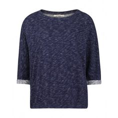 Wunderwerk Blue Melange Oversized Sweater | Supergoods Ecodesign & Fair Fashion http://www.supergoods.be/products/wunderwerk-blue-melange-oversized-sweater 89.95€