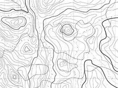 topographic map mountain - Поиск в Google