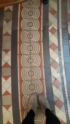 Entrance tiles Birmingham Museum, Entrance, Tiles, Mirror, Furniture, Home Decor, Room Tiles, Entryway, Decoration Home