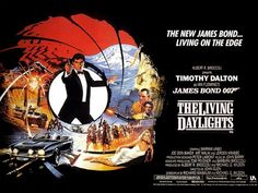 Timothy Dalton breathed new life into the franchise in The Living Daylights (1987)