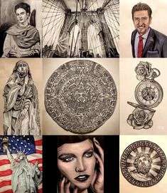 Best 9 I could fit out of a hundred of drawings I do per year!:) THANK YOU TO ALL OF THE FANS and ARTISTS FOR YOUR SUPPORT!:) 💙❤️💚🧡💜 🎨 #portfolio #art #artwork  #sullenclothing #drawing #tattoo #ink #inked #artsy #3d #photorealism #realism #personal #west #usa #europe #africa #asia #latinamerica #best9 #flashback #year #la #losangeles #vogue #newyears  #yearinreview #clients #happynewyear #sephora