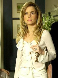 Cláudia Abreu interpretou a vilã Laura em 'Celebridade' (2003)