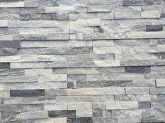 "Roterra Stone Siding - Natural Ledge Stone Cloudy Gray / Ledge Stone Flat  6""x24"" - Fireplace"