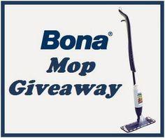 Two Classy Chics Chat: Bona Microfiber Mop Giveaway
