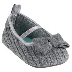 Cable Knit Mary Jane | Baby Girl Shoes & Slippers