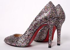 Louboutins perfect for a high school grad.