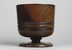 An Exceptional Large Charles II Wassail Bowl, Turned From a Single Piece of Well Figured Lignum Vitae, With Fine Old Surface Patination and Colour, English, c.1670