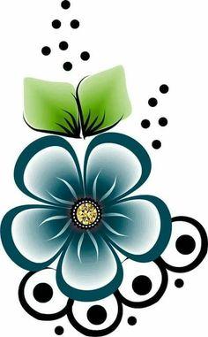 Trendy Flowers Drawing Ideas One Stroke 39 Ideas Applique Patterns, Beading Patterns, Flower Patterns, Flower Designs, Rock Flowers, Beadwork Designs, Floral Drawing, Flower Doodles, Flower Wallpaper