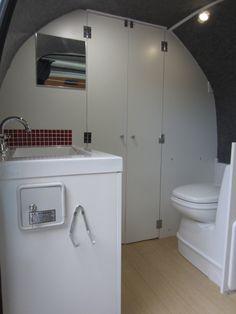 Campervan bathroom