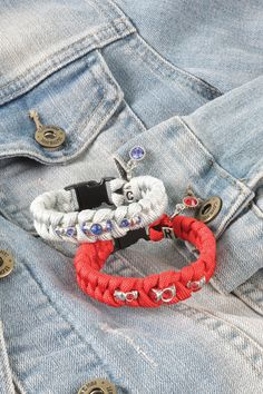 Easy paracord bracelets #crafts