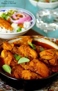 Sri Lankan Chicken Curry - Spicy & Delicious