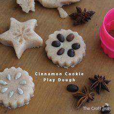 cinnamon-cookie-dough-header Activities For Autistic Children, Creative Activities For Kids, Autumn Activities For Kids, Christmas Activities, Preschool Winter, Real Baking, Cream Of Tarter, Jam Tarts, Cinnamon Cookies