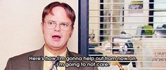 He showed how to help others-Dwight K Schrute is a life coach Helping Others, Helping People, Dwight K Schrute, Misfit Toys, Paper People, Magic Words, Best Shows Ever, The Office, The Funny