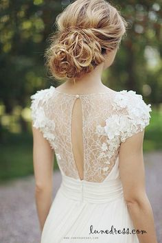 lace wedding dress lace wedding dresses  Just so pretty, love it