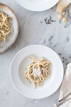 cacio e pepe by ashley rodriguez from date night in. photo and styling | karen mordechai.