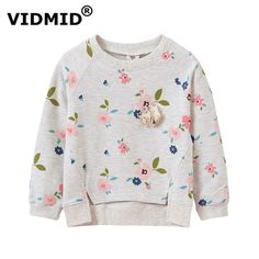 children jackets on sale at reasonable prices, buy VIDMID baby girl sweater children jacket blouse for girls sweatershirt autumn spring flower children jacket 1045 60 from mobile site on Aliexpress Now! Fashion Kids, Style Fashion, Baby Girl Sweaters, Frocks For Girls, Floral Jacket, Cotton Jacket, Kind Mode, Baby Wearing, Kids Wear