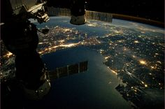 In this stunning photo captured by European Space Agency astronaut André Kuipers, the International Space Station (ISS) orbits several hundred miles above the glowing city of Istanbul, an ancient city in Turkey that is home to more than 13 million people and is situated at the crossroads of Europe and Asia.