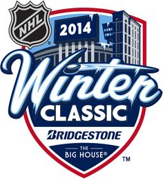 NHL Winter Classic 2014. Already pumped for hockey season to start! Only 8 more days!!!