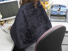 Office too cold? Here's your special blanket, and it's powered by a USB connection. Cool!