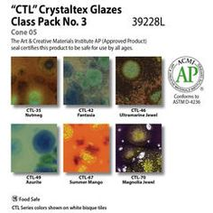 Class Packs and Sets : Glazes & Underglazes Health And Safety, Glaze, Packing, This Or That Questions, Isomalt, Bag Packaging, Tooth Enamel