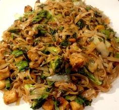 Vegan Pad Kee Mao Recipe