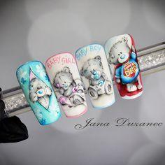 "Polubienia: 1,129, komentarze: 19 – Jana nails (@jananails_official) na Instagramie: ""Cuteness overload painted with our supreme colour gel pigments www.nails-jana.com #jana…"""