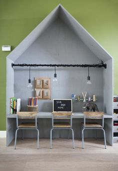 mommo design: 10 DIY IDEAS FOR KID'S ROOM - Office cottage