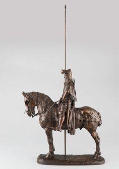 FREMIET Emmanuel, sculpture 19e du duc d'Orléans
