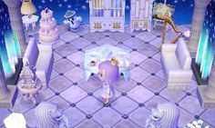 Finally set up my main room as planned, but ah idk i feel like something's off :/ maybe it seems too cold? not sure how i feel about this decor Animal Crossing Funny, Animal Crossing Pocket Camp, The Legend Of Zelda, Kingdom Hearts, Final Fantasy, Acnl Paths, Ac New Leaf, Happy Home Designer, Qr Codes