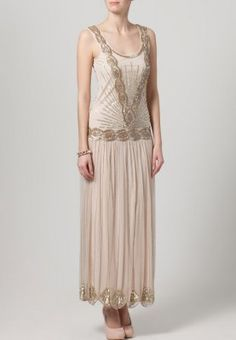 Frock and Frill - ZELDA - Maxi dress - beige  A little longer than short - fab for a budget conscious bride though or 30's inspired day  Actually - time for a new board!