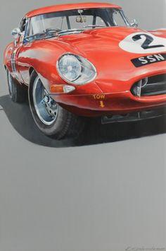 Jaguar Xk120, British Sports Cars, Cars Uk, Garage Art, Car Illustration, Car Posters, Jaguar E Type, Car Drawings, Automotive Art