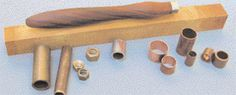 How to construct a woodturning tool handle.  Contains suggested handle lengths by tool type.