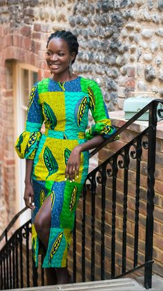 Latest African Fashion Dresses, African Dresses For Women, African Print Dresses, African Print Fashion, African Attire, African Wear, African Women, African Style, Lace Dress Styles