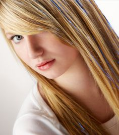 Hair Tinsel – hair color strands & highlights for all hair styles
