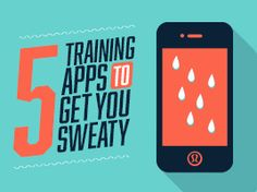 get sweaty with these five training apps