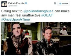 Patrick Fischler's tweet about Colin ... he's right!!! - Once Upon a Time