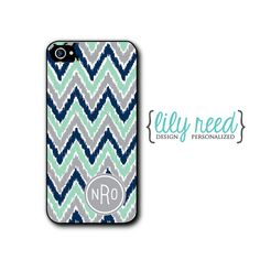 Personalized Phone Case iPhone 5 5c 5s iPhone 4 4s by LilyReed, $15.00