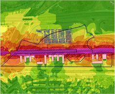 Soroll diürn generat per una infraestructura existent sobre uns edificis projectats Golf Courses