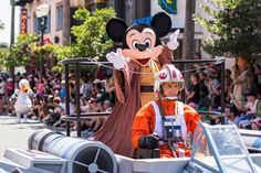 The Power of the Force and the Magic of Disney combine for a Star Wars fan-fest like no other each year during Star Wars Weekends at Disney's Hollywood Studios at Walt Disney World Resort in Lake Buena Vista.