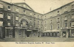 The Middlesex Hospital,Front view | Flickr - Photo Sharing!