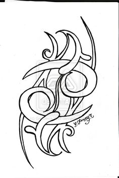 7ff7a40da5387 33 Best Tribal Tattoos Outline Designs images in 2017 | Tribal ...