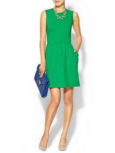 Piperlime | Poppy Textured Dress