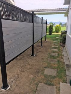 Explore contemporary designs for the front and backyard. Composite Fencing, Fence Boards, Tropical Colors, Outdoor Living, Outdoor Decor, Contemporary Design, Most Beautiful, Composition, Backyard