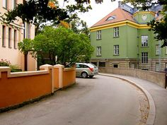 A street in Eira, Helsinki, Finland. Nordic Classicism, Visit Helsinki, Moving Overseas, Scandinavian Countries, Scandinavian Living, Beautiful Buildings, Capital City, Homeland, Cool Places To Visit