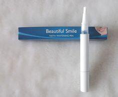 Hampaiden valkaisukynä poistaa tahrat ja värjäymät. Ensimmäiset 50 tilaajaa saavat valkaisukynän tarjoushintaan 15€!  http://beautyoutlet.mycashflow.fi/product/1/hampaiden-valkaisukyna