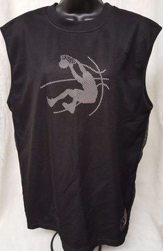 Shaq Vintage Shaquille O'Neal Men's #34 MVP Black/Gray Basketball Shirt Size L #ShaquilleONeal